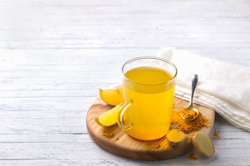 Lemon Turmeric Tonic