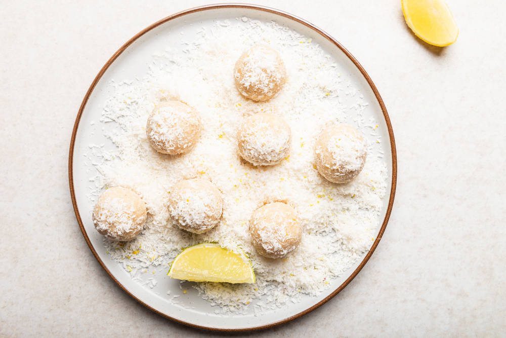 Lemonade Cheesecake Balls