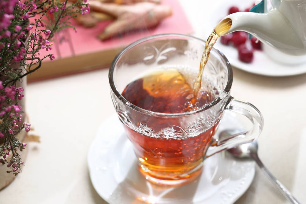 Pomegranate Lemon Tea