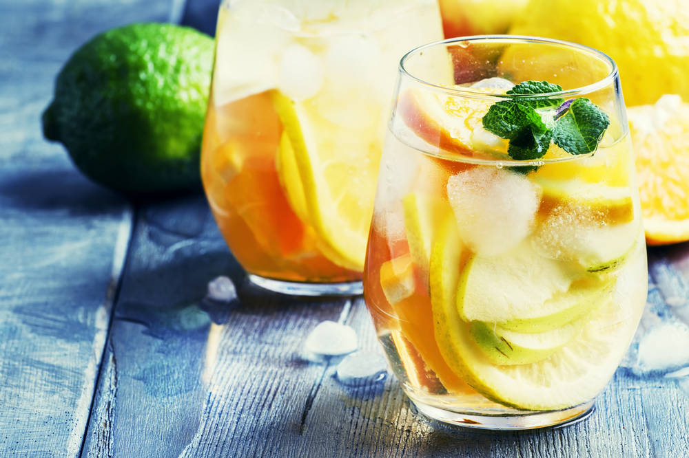 Summer White Sangria